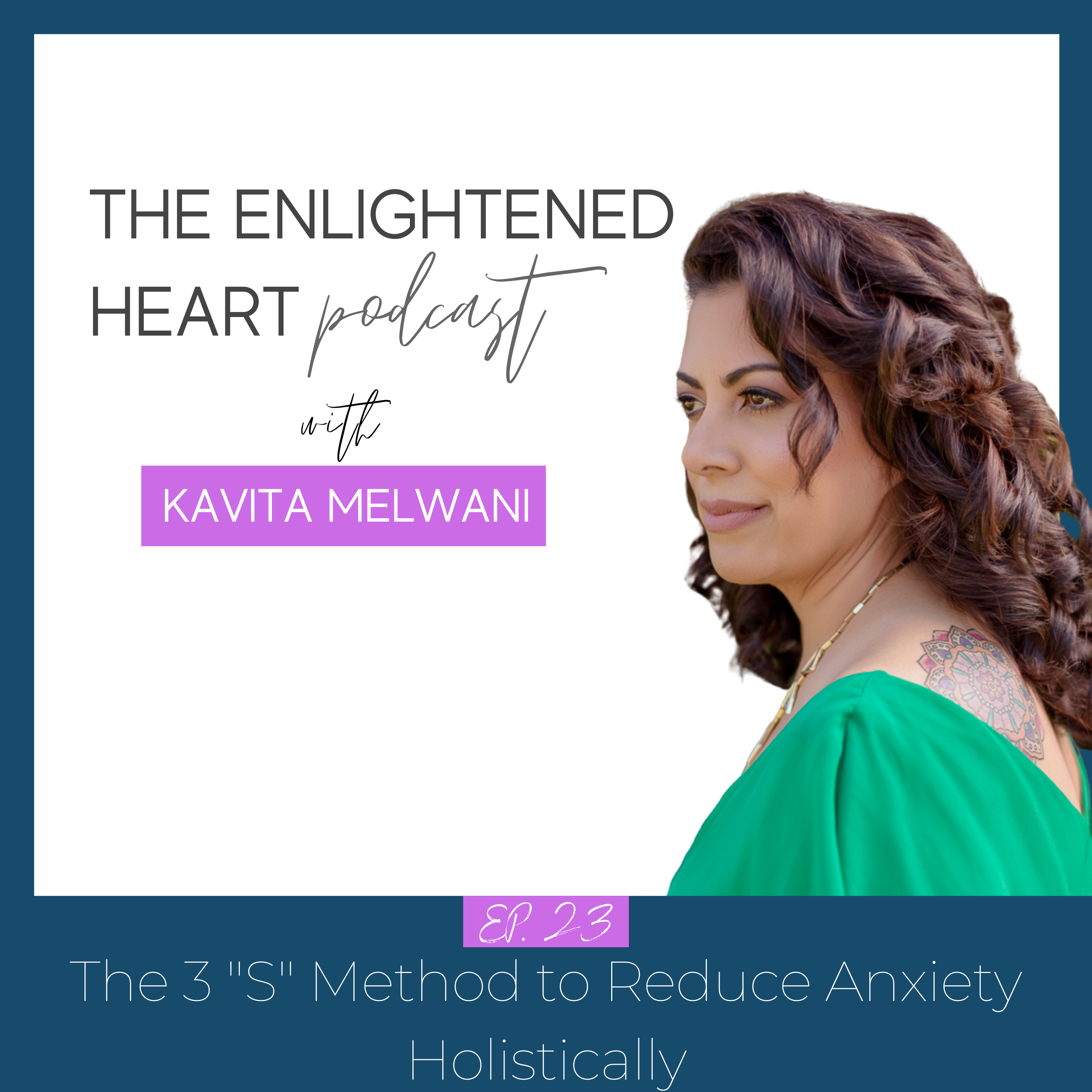 """The 3 """"S"""" Method to Reduce anxiety"""